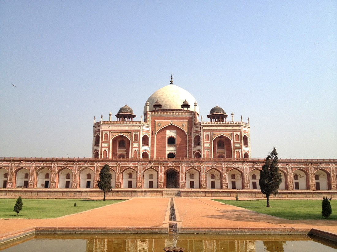 chabagh garden and humayun's tomb